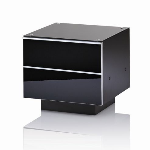 UK-CF G Series DRW Compact TV Unit - 86cm - Black