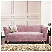 Millie Large Fabric Sofa Rose