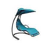 Sky Blue Helicopter Swing Chair