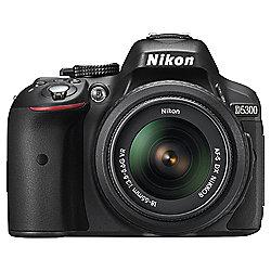 Nikon D5300 Digital SLR, Black, 24.2 Mega Pixel, Wi-Fi, 18-55mm Lens