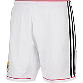 2014-15 Real Madrid Adidas Home Shorts (White) - Kids - White