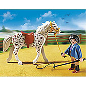 Playmobil 5107 Speckled Horse with Stall