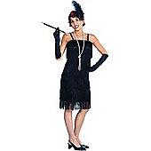 Adult Charleston Flapper Fancy Dress Costume