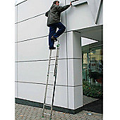 DIY 3.7m (12.14ft) Double Extension Ladder