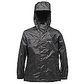 Regatta Kids Pack It Waterproof Jacket - Black