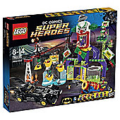 LEGO DC Comics Super Heroes Batman's Jokerland 76035