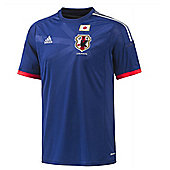 2014-15 Japan Home World Cup Football Shirt - Blue