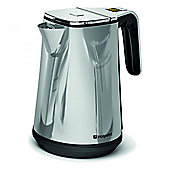 Hotpoint WK30EUPOUK Digital Cordless Kettle 3kW with 6 Temperatures in Chrome