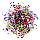 Jacks Multi Dot Bracelet Refill Pack - 250 Loom Bands
