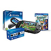PS VITA SLIM (TEARAWAY AND PLAYSTATION VITA STARTER KIT )