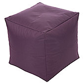 Kaikoo In / Out Cube Chair - Aubergine