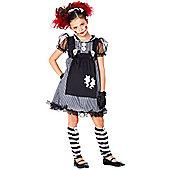 Dark Dollie - Child Costume 5-6 years