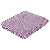 Tesco 100% Combed Cotton Hand Towel Heather