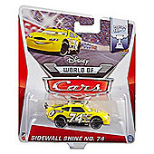 Disney Pixar Cars Diecast Sidewall Shine No.74