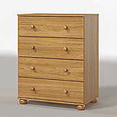 Urbane Designs Dorset 4 Drawer Chest - New Oak