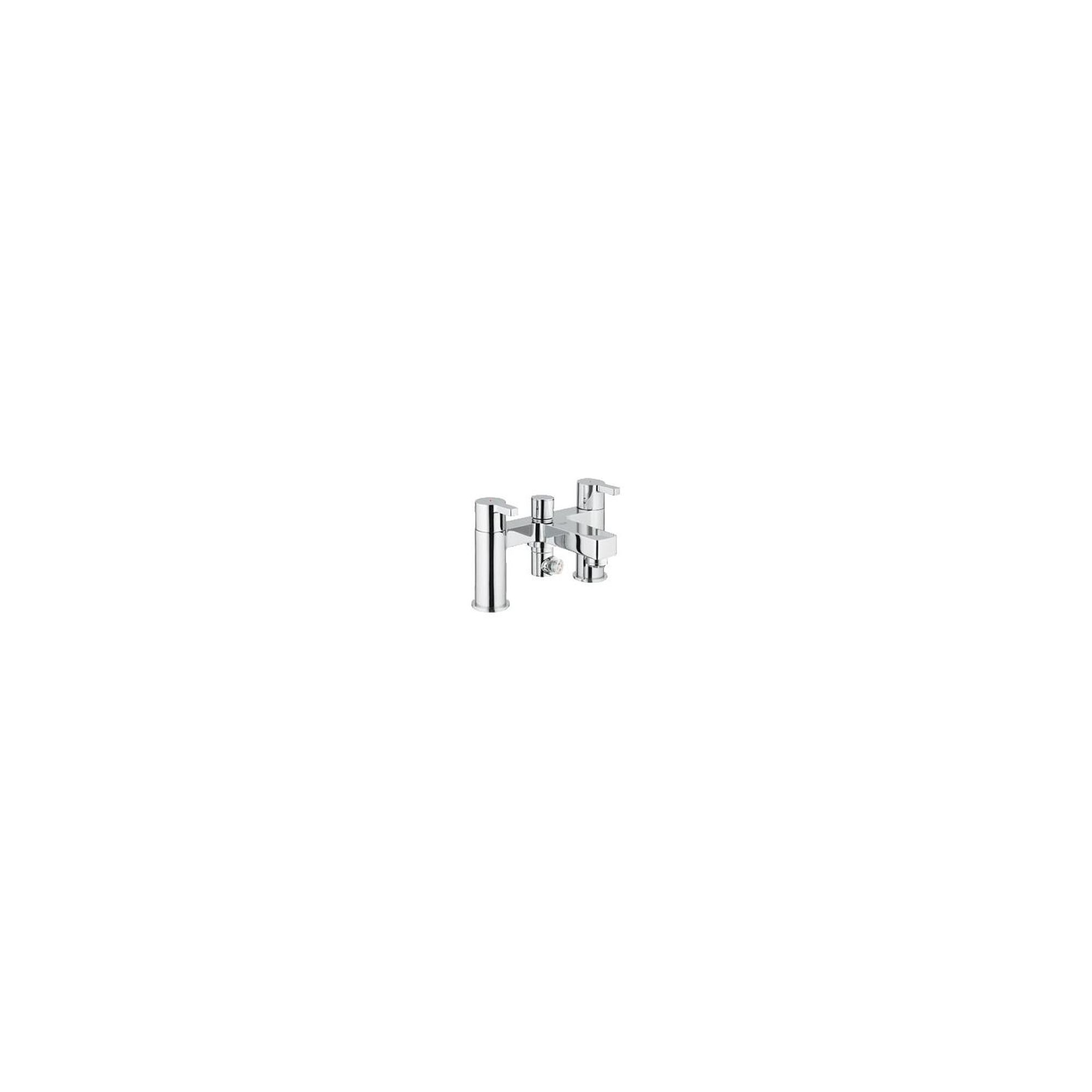Grohe Lineare Bath Shower Mixer Tap, Pillar Mounted, Chrome at Tesco Direct