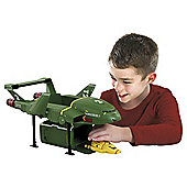 Supersize Thunderbird 2 with Thunderbird 4 Playset