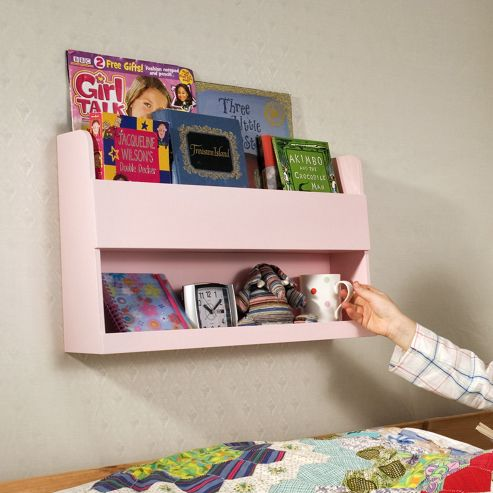 Tidy Books The Tidy Books Bunk Bed Shelf (Pink)