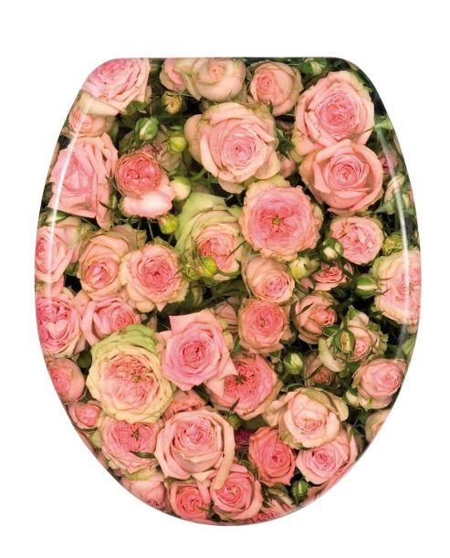 Wenko Roses Toilet Seat