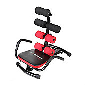 Confidence Ab Zone Flex Abdominal Exercise Machine Toning Chair