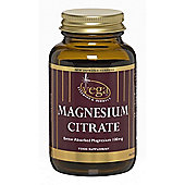 Vega Magnesium Citrate 100mg 30 Veg Capsules