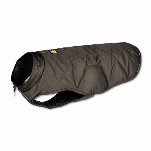 Ruff Wear Quinzee? Insulated Dog Jacket in Granite Grey - Large (81cm - 91cm W)