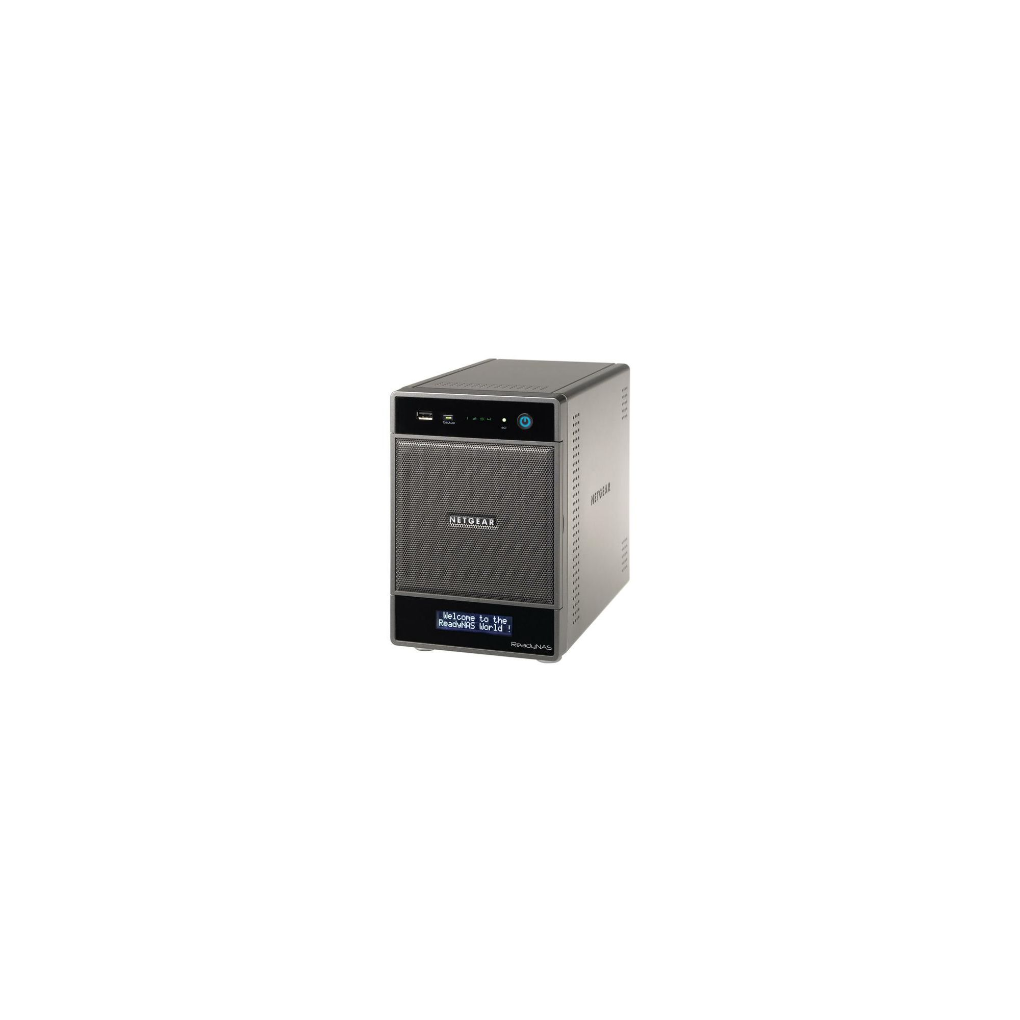 Netgear RNDU4220-100UKS ReadyNAS Ultra 4 - MM Desktop Storage System 4TB (2x2TB HDD) at Tesco Direct