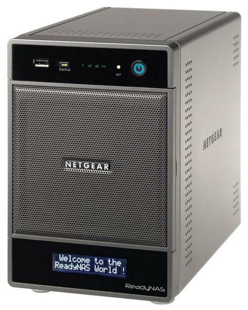 Netgear RNDU4220-100UKS ReadyNAS Ultra 4 - MM Desktop Storage System 4TB (2x2TB HDD)
