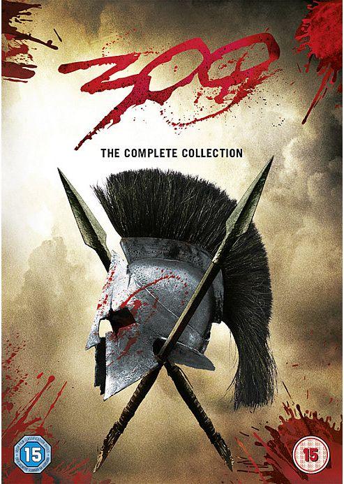 300 & 300 Rise Of An Empire (DVD)