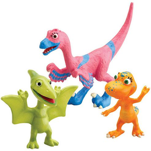 Dinosaur Train - Velma, Annie and Don 3 Figure Pack