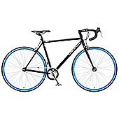 2014 Viking Soho 59cm Drop Bar Fixie Fixed Gear Bike Black
