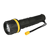 Silverline LED Rubber Torch 3 x D