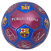 Barcelona Size 1 Signature Ball