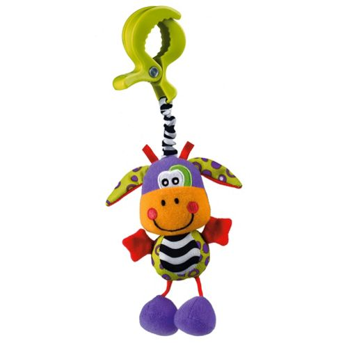 Tesco Baby Dingly Dangly Animals Pram Toy