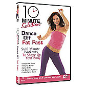 10 Minute Solution: Dance Off Fat Fast (Fitness DVD)