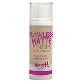 Barry M Flawless Matte Finish Oil Free Foundation 2 Nude 30G