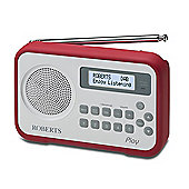 PLAY-R Portable DABFM radio with Built in Battery Charger
