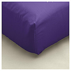 Double Fitted Sheet - Purple