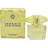 Versace Yellow Diamond Eau de Toilette (EDT) 90ml Spray For Women