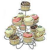 Gusta 26cm Stainless Steel Cupcake Stand