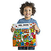 Mr Men 10-in-1 Mega Jigsaw Puzzle