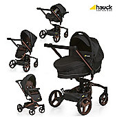 Hauck Twister Travel System, Chocolate