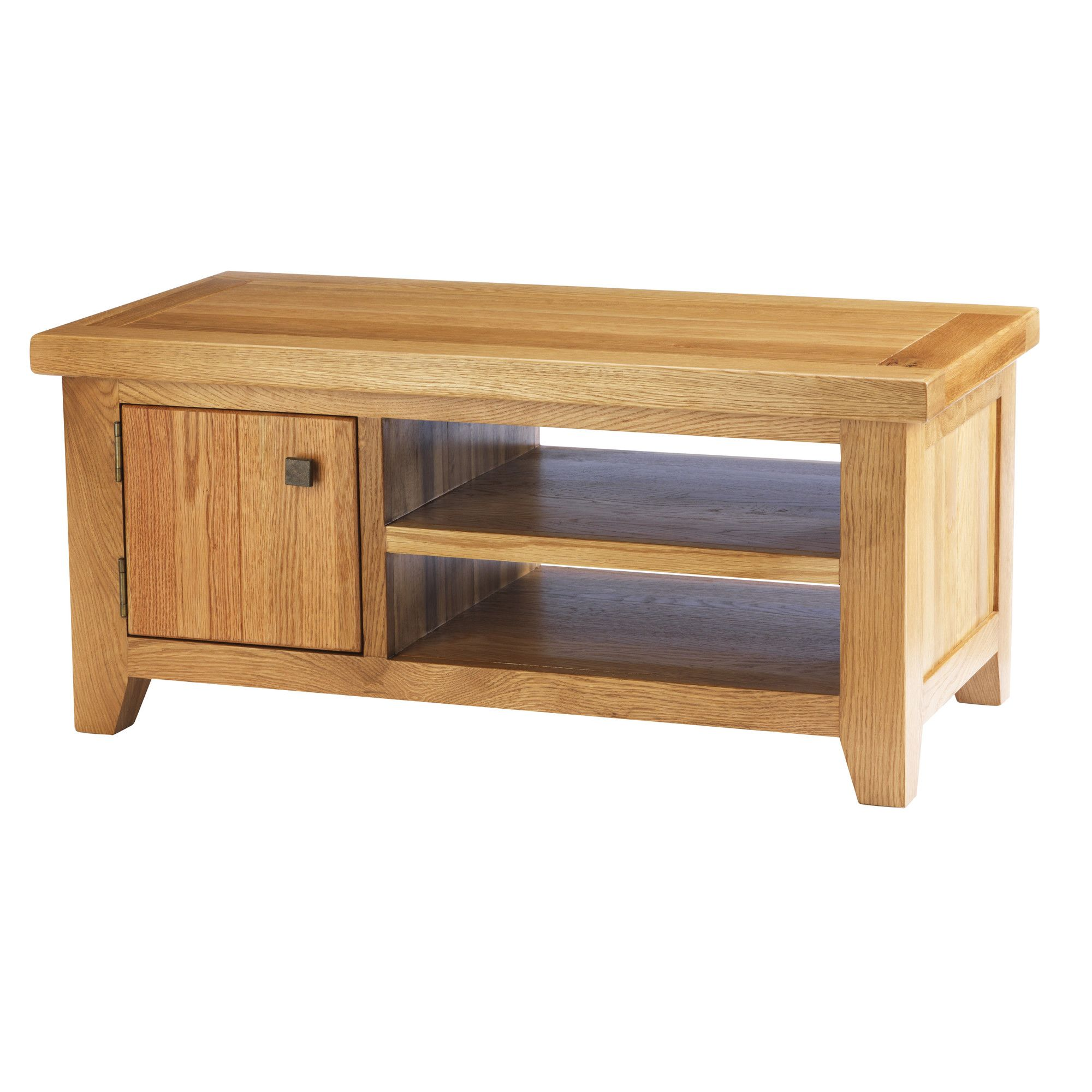 Thorndon Taunton Solid Wooden Low TV Stand for LCDs at Tesco Direct