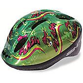 SH+ Lucky Childrens Helmet: Green Medium.