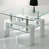 Wilkinson Furniture Calico Lamp Table - White