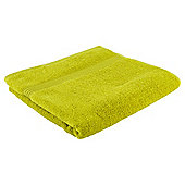 Tesco Hygro 100% Cotton Bath Towel, Lime