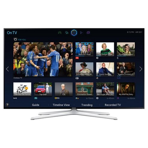 Samsung UE60H6240 60 Inch 3D Ready, Smart WiFi Built In Full HD 1080p LED TV with Freeview HD