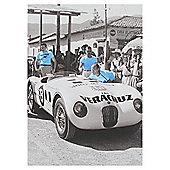 Racing Car A6 Notebook