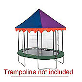JumpKing 7ft x 10ft Oval Circus Tent Canopy