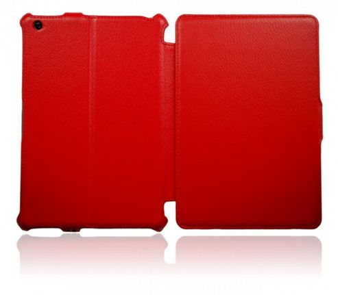 U-Bop Exopad G2 Leather Flip Case, Red - Apple iPad Mini